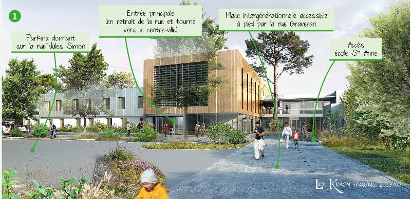 Mairie de crozon for Projet architectural definition